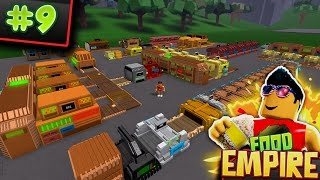 Food Empire #9! - Complete CHIPS Setup!! | Roblox