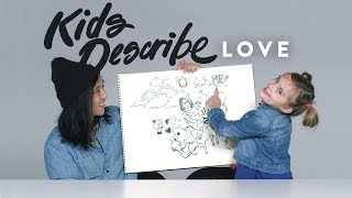 Kids Describe Love to Koji the Illustrator | Kids Describe | HiHo