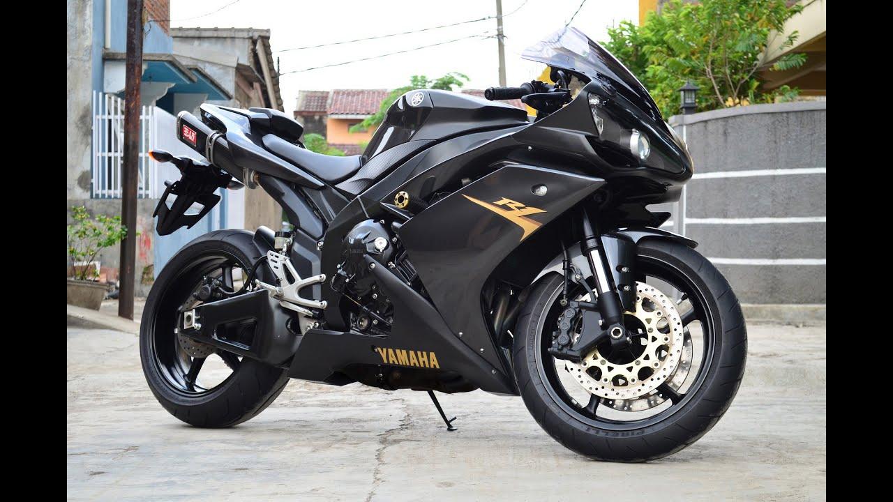 Yamaha YZF R1 2008,Euro Spec,Full Spec,Full Acc,99%(istimewa) - YouTube