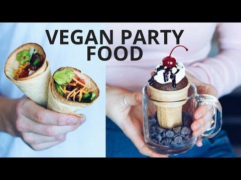 VEGAN PARTY FOOD RECIPES