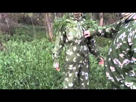 КЛМК Березка, маскировочный комбинезон.Test Camouflage USSR .