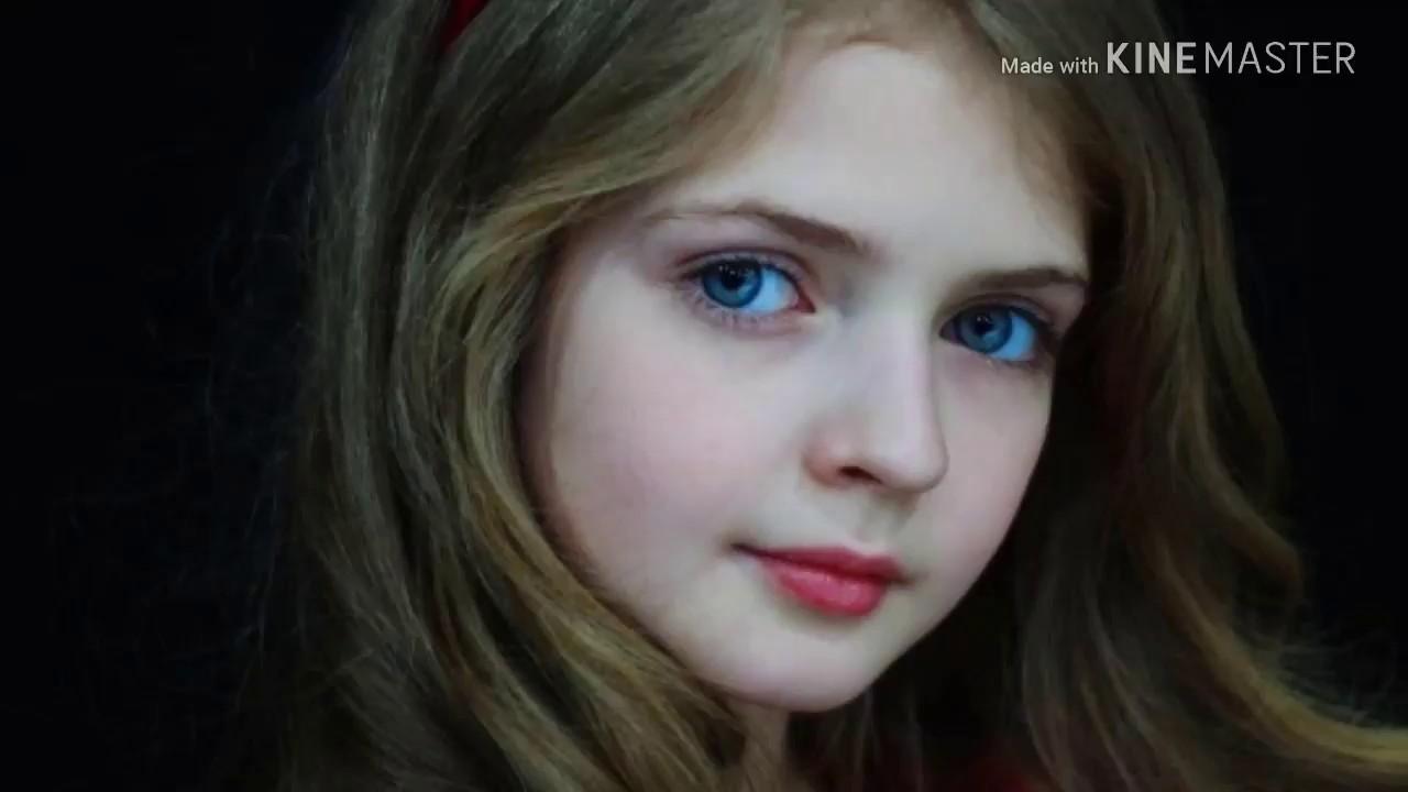 انجلينا الاوكرانية  (انهلينا) || اصغر عارضة أزياء تثير إعجاب الحضور 💝👑