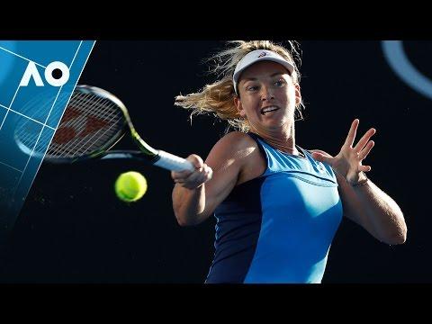 Parmentier v Vandeweghe match highlights (2R) | Australian Open 2017