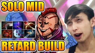 SingSing Dota 2 - Antimage Solo Mid With Retard Build Teehee