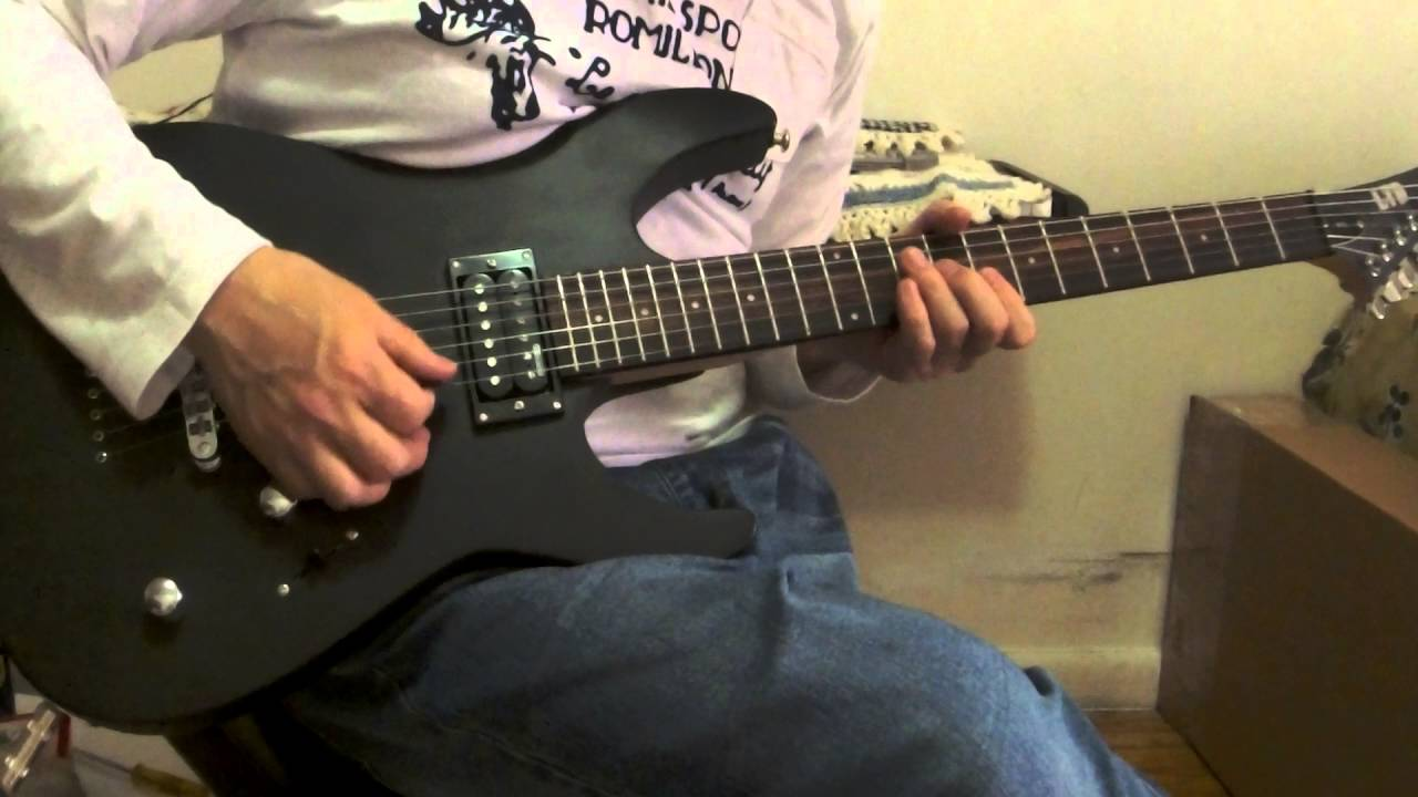 esp ltd m10 electric guitar demo new demo youtube. Black Bedroom Furniture Sets. Home Design Ideas