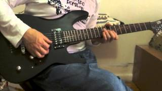 ESP LTD M10 Electric Guitar Demo New Demo