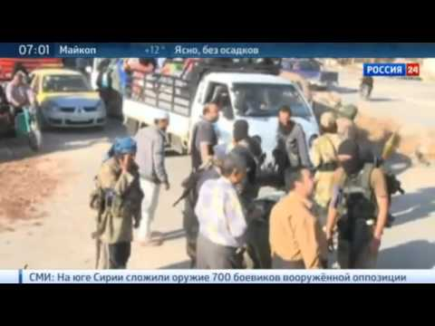 ISIS - Panic Starts The Withdrawal from Syria to Mosul Northern Iraq 4/10 /15