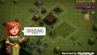 Clash of Clans walkthrough part 1 Greek