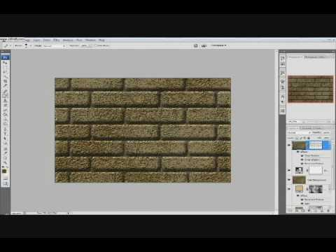 Realistic Brick Wall In Photoshop In Under 15 Minutes Real Time Part 1