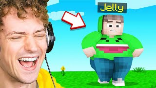 LAUGHING At My FRIEND In Minecraft!