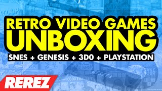 Retro Video Games Unboxing - Rerez