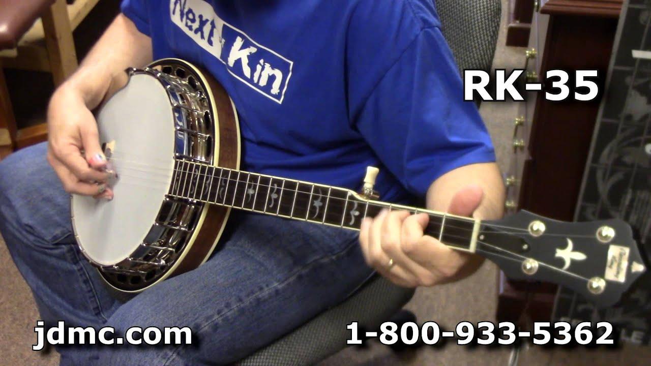 Recording King RK-35 VS  RK-36 -