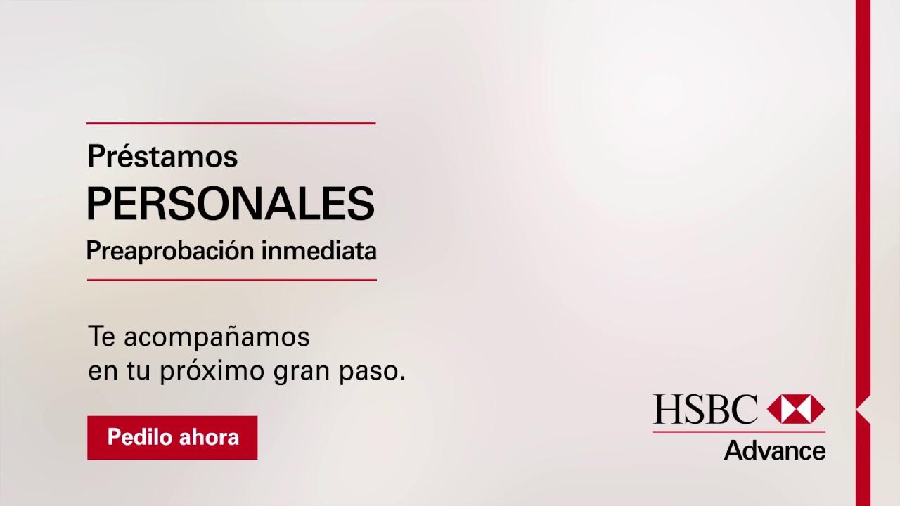 Concretá tus proyectos con los Préstamos Personales de HSBC Advance