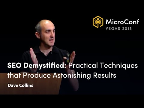 SEO Demystified: Practical Techniques That Produce Astonishing Results - Dave Collins