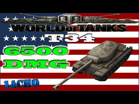 World of Tanks T34 - 7 Kills 6,5K Damage