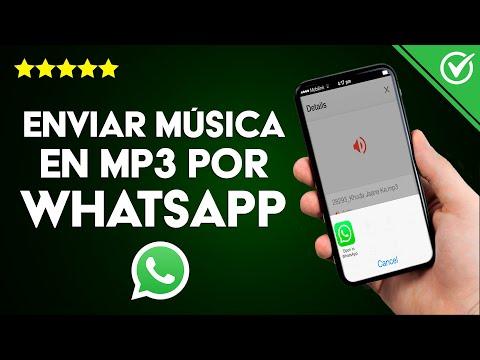 Cómo Enviar Música en MP3 por WhatsApp Desde iPhone, iPad e iPod