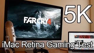 Far cry 4 in 5k on Retina iMac! Performance Test