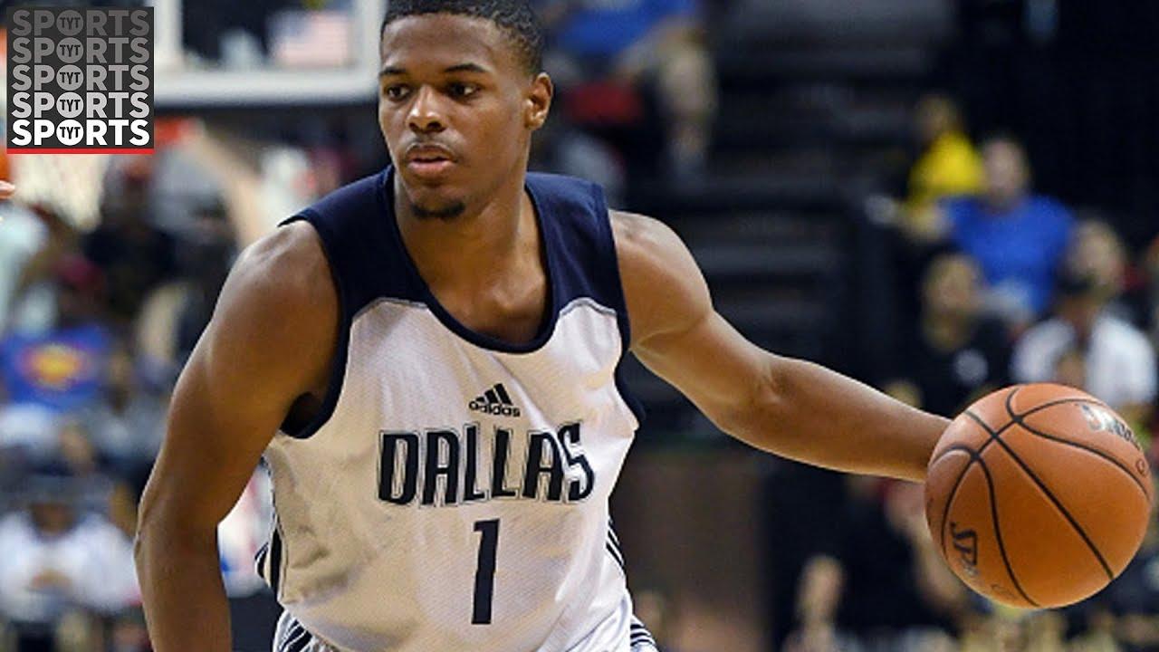 Watch Knicks stud Dennis Smith Jr. dunk over J. Cole