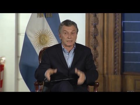 Macri en la Bolsa de Comercio