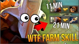 NEXT LEVEL of FARM - Ramzes 11 Min Battle Furry Juggernaut 7.07 | Dota 2