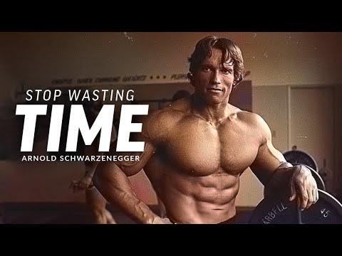 STOP WASTING TIME - Best Motivational Speech Video (Featuring Arnold Schwarzenegger)