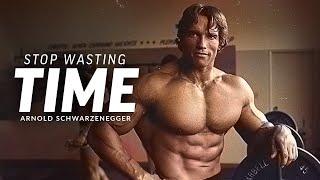STOP WASTING TIME - Bęst Motivational Speech Video (Featuring Arnold Schwarzenegger)