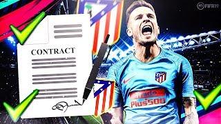 FIFA 19 | CARRIÈRE ATLETICO MADRID : ACCEPTER TOUTES LES OFFRES CHALLENGE !