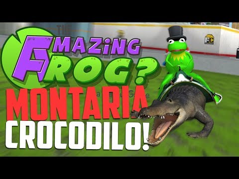 CROCODILO NO VASO !!!! - Amazing Frog
