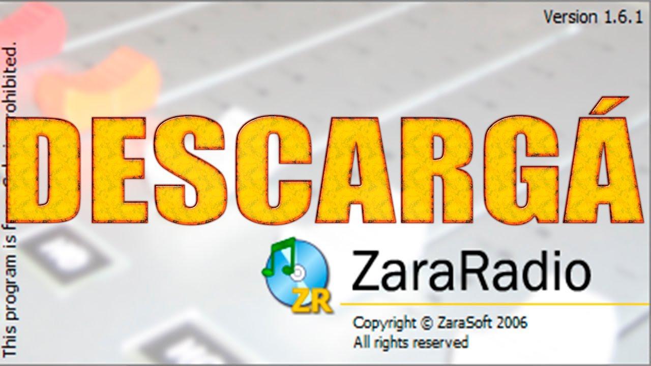 Descargar E Instalar ZaraRadio FULL - YouTube