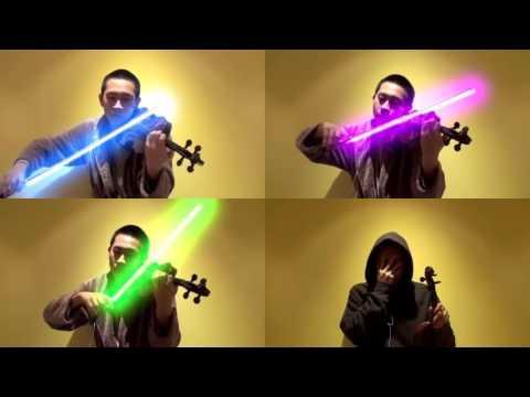 Star Wars, il Tema della Forza suonato con violini laser: VIDEO