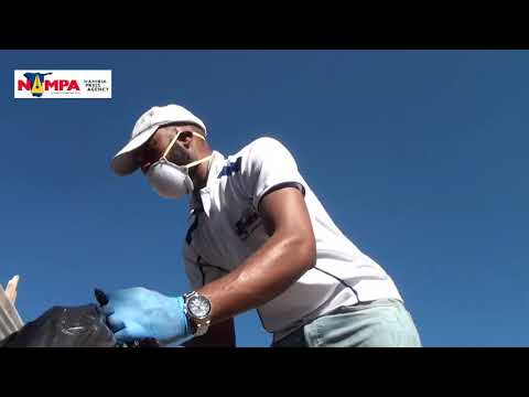 Nampa holds clean-up at Okahandja Park