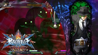Blazblue Chrono Phantasma Extend - Hazama - Arcade Mode!