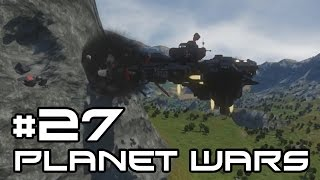 Space Engineers Planet Wars - A Terrible Trap! #27