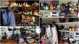 My Beauty Corner | Dorm Room Makeup/Vanity Organization | NCCU