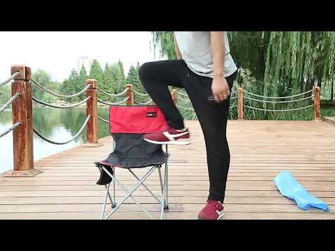 CPMAX 戶外折疊椅 折疊凳 便攜釣魚凳子 美術寫生凳 靠背椅子 露營椅子 快速收納 折疊椅 摺疊椅子【O124】