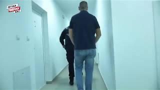 Filmsko hapšenje dilera i osumnjičenog za pokušaj ubistva (Kurir TV)