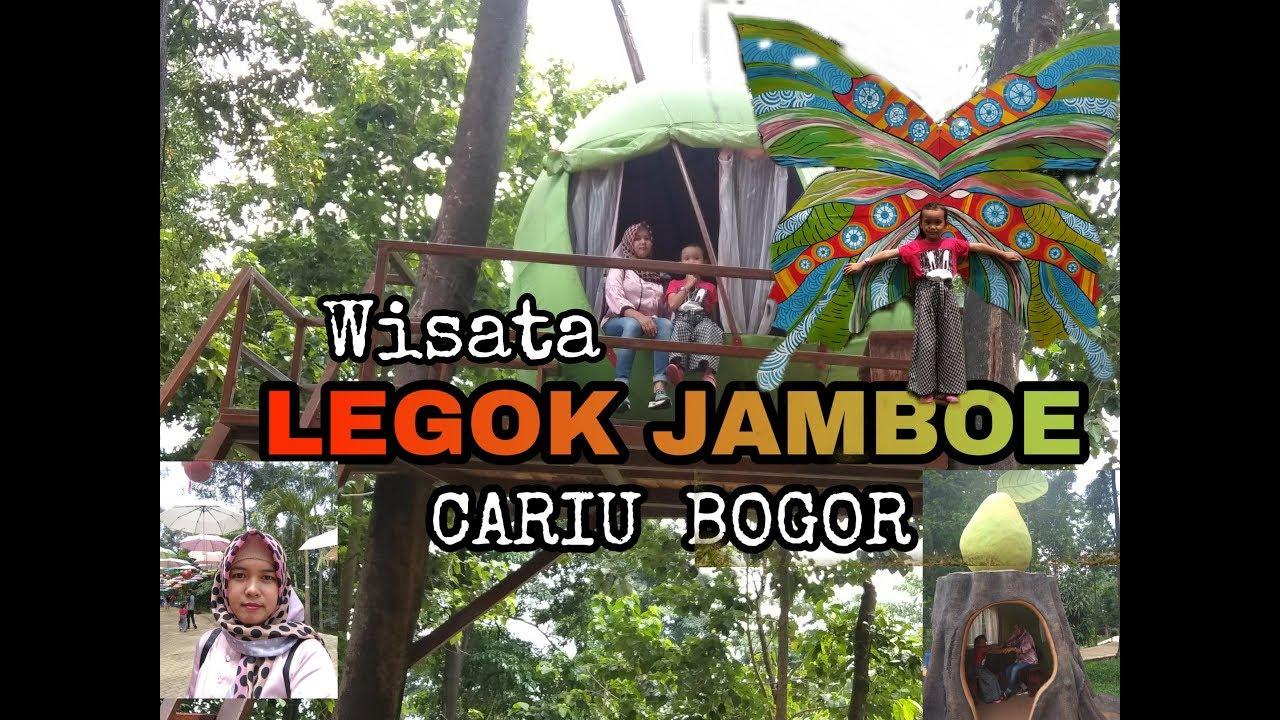 LEGOK JAMBU.. Wisata terbaru dan terpopuler di Cariu BOGOR _ NUR HASANAH  TRAVELLING _