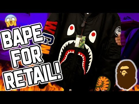 THIS STORE HAS BAPE FOR RETAIL!!!