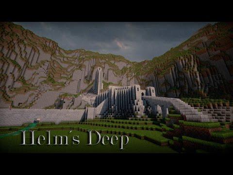 Minecraft-LOTR Helms Deep-Tour