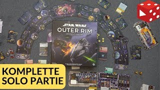 Star Wars: Outer Rim - Eine komplette Solo Partie