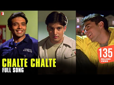 Mix - Chalte Chalte - Full Song | Mohabbatein | Uday Chopra | Jugal Hansraj | Jimmy Shergill