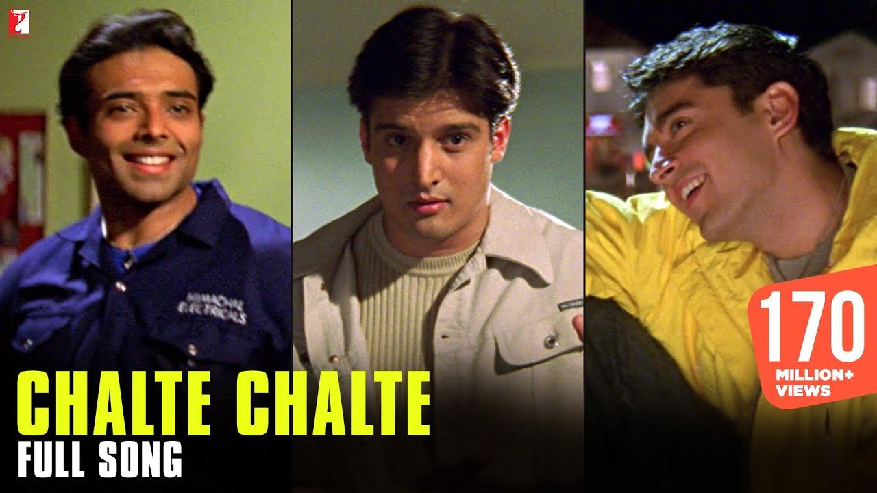 Download Chalte Chalte - Full Song | Mohabbatein | Uday Chopra | Jugal Hansraj | Jimmy Shergill