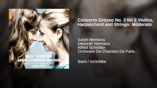 Concerto Grosso No. 3 for 2 Violins, Harpsichord and Strings: Moderato