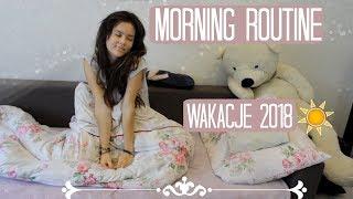 MORNING ROUTINE   Wakacje 2018