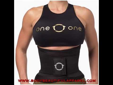 36b6f3acc97 Waist Belt , waist trainer One0one UK stockist - YouTube