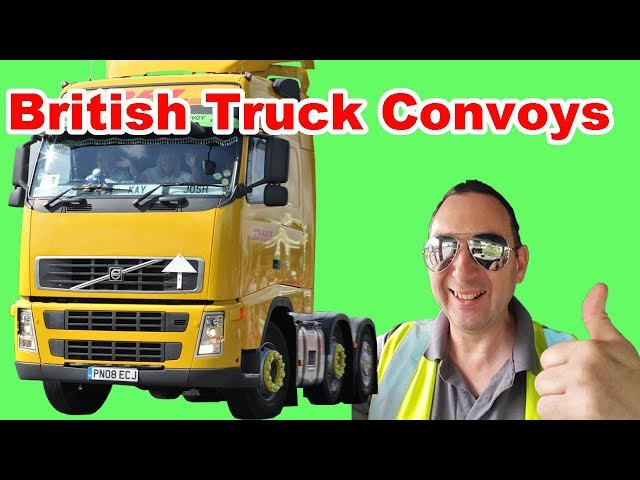 British Truck Convoys great Truck convoy good buddy!