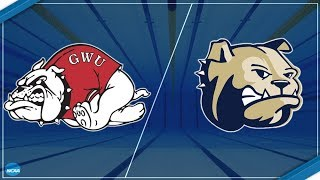 2017-18 Wingate Swimming - Vs Gardner-Webb