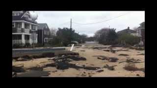 Hurricane Sandy Destroys Bay Head NJ