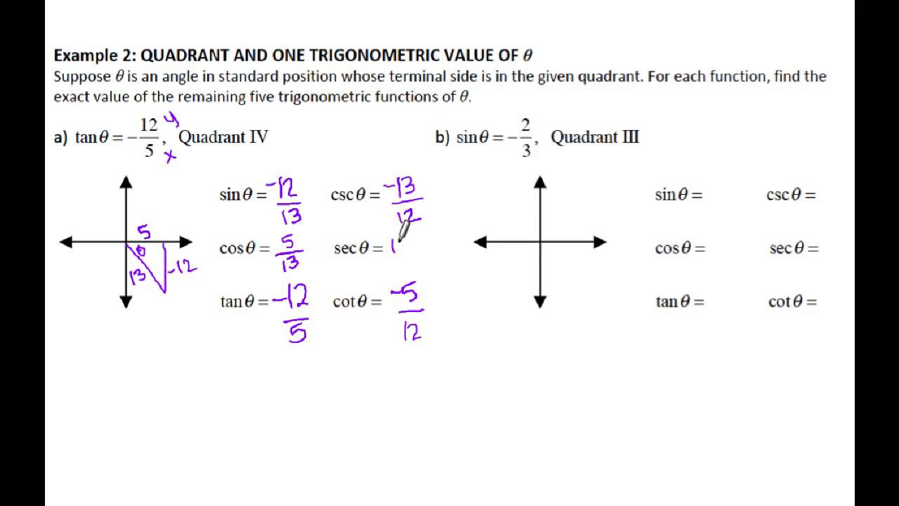 comparing properties of trig functions