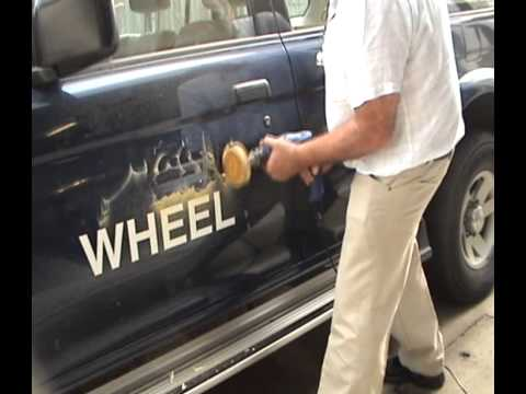 Whizzy Wheel - Remove Car & Truck Decals and Stickers in Minutes - Step by Step guide